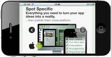 build beautiful apps with spotspecific